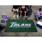 5' x 8' Tulane Green Wave Ulti Mat
