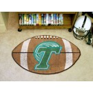 "22"" x 35"" Tulane Green Wave Football Mat"