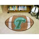 "22"" x 35"" Tulane Green Wave Football Mat"