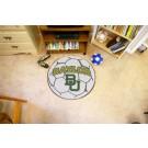 "27"" Round Baylor Bears Soccer Mat"