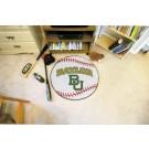 "27"" Round Baylor Bears Baseball Mat"