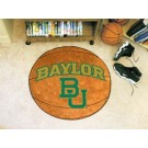 "27"" Round Baylor Bears Basketball Mat"