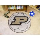 "27"" Round Purdue Boilermakers Soccer Mat"