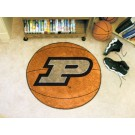 "27"" Round Purdue Boilermakers Basketball Mat"