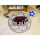 "27"" Round St. Joseph's Hawks Soccer Mat"