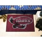"""St. Joseph's Hawks 19"""" x 30"""" Starter Mat"""