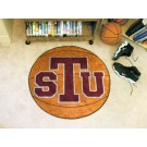 "27"" Round Texas Southern Tigers Basketball Mat"
