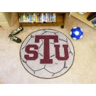 "27"" Round Texas Southern Tigers Soccer Mat"