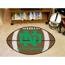 "North Dakota  Hawks 22"" x 35"" Football Mat"