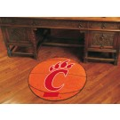 "27"" Round Cincinnati Bearcats Basketball Mat"