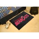 """Cincinnati Bearcats 19"""" x 30"""" Starter Mat"""