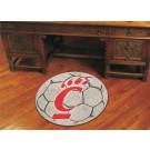 """27"""" Round Cincinnati Bearcats Soccer Mat"""