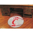 "27"" Round Cincinnati Bearcats Baseball Mat"