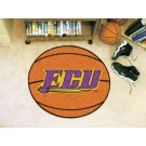 "27"" Round East Carolina Pirates Basketball Mat"