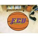 "27"" Round East Carolina Pirates Basketball Mat"