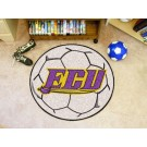 "27"" Round East Carolina Pirates Soccer Mat"
