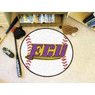 "27"" Round East Carolina Pirates Baseball Mat"