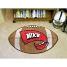 """22"""" x 35"""" Western Kentucky Hilltoppers Football Mat"""