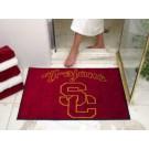 "34"" x 45"" USC Trojans All Star Floor Mat"