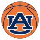 "Auburn Tigers 27"" Round Basketball Mat (with ""AU"")"