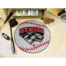 "27"" Round New Mexico Lobos Baseball Mat"