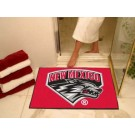 "34"" x 45"" New Mexico Lobos All Star Floor Mat"