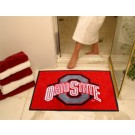 "34"" x 45"" Ohio State Buckeyes All Star Floor Mat"