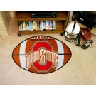 "22"" x 35"" Ohio State Buckeyes Football Mat"