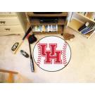 "27"" Round Houston Cougars Baseball Mat"