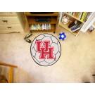 "27"" Round Houston Cougars Soccer Mat"