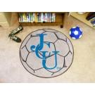 "27"" Round John Carroll Blue Streaks Soccer Mat"
