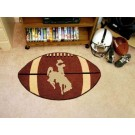 "Wyoming Cowboys 22"" x 35"" Football Mat"