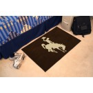 "Wyoming Cowboys 19"" x 30"" Starter Mat"