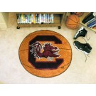 "27"" Round South Carolina Gamecocks Basketball Mat"