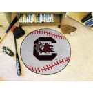 "27"" Round South Carolina Gamecocks Baseball Mat"