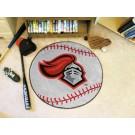 "27"" Round Rutgers Scarlet Knights Baseball Mat"