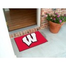 "Wisconsin Badgers ""W"" 19"" x 30"" Starter Mat"