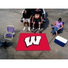 "Wisconsin Badgers ""W"" 5' x 6' Tailgater Mat"