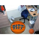 "Pittsburgh Panthers 27"" Round Basketball Mat"