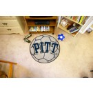 """27"""" Round Pittsburgh Panthers Soccer Mat"""