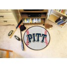 "27"" Round Pittsburgh Panthers Baseball Mat"