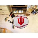 "27"" Round Indiana Hoosiers Baseball Mat"