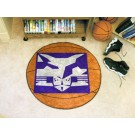 "New York Bobcats 27"" Round Basketball Mat"