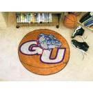 "27"" Round Gonzaga Bulldogs Basketball Mat"