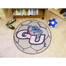 "27"" Round Gonzaga Bulldogs Soccer Mat"