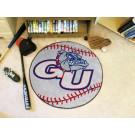 "27"" Round Gonzaga Bulldogs Baseball Mat"