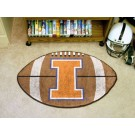 "22"" x 35"" Illinois Fighting Illini Football Mat"