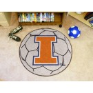 "27"" Round Illinois Fighting Illini Soccer Mat"