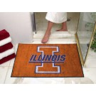 "34"" x 45"" Illinois Fighting Illini All Star Floor Mat"