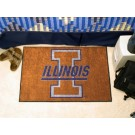 "Illinois Fighting Illini 19"" x 30"" Starter Mat"